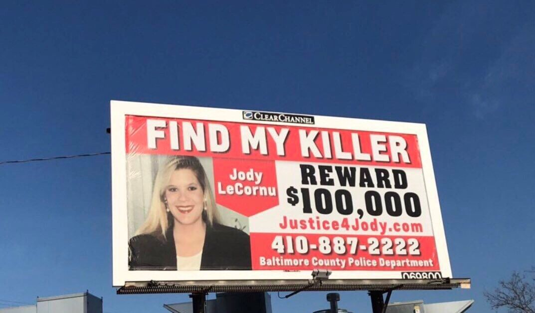Inspired by movie, Md  woman hopes one last billboard will