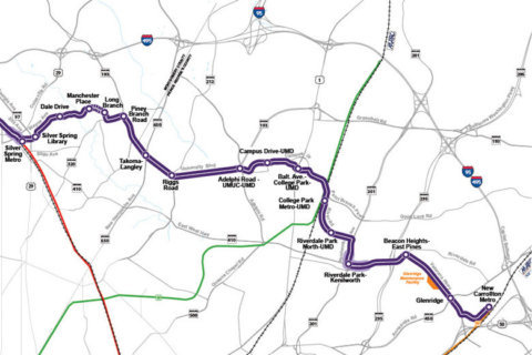 Purple Line construction endangers 66-inch water main in Prince George's Co.