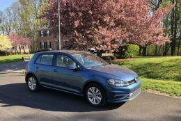The Volkswagen Golf SE runs for $25,000. (WTOP/Mike Parris)