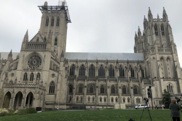 Bells ring at Washington National Cathedral in harmonious start of the new year