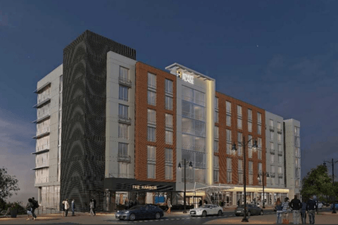 National Harbor's 9th hotel just broke ground