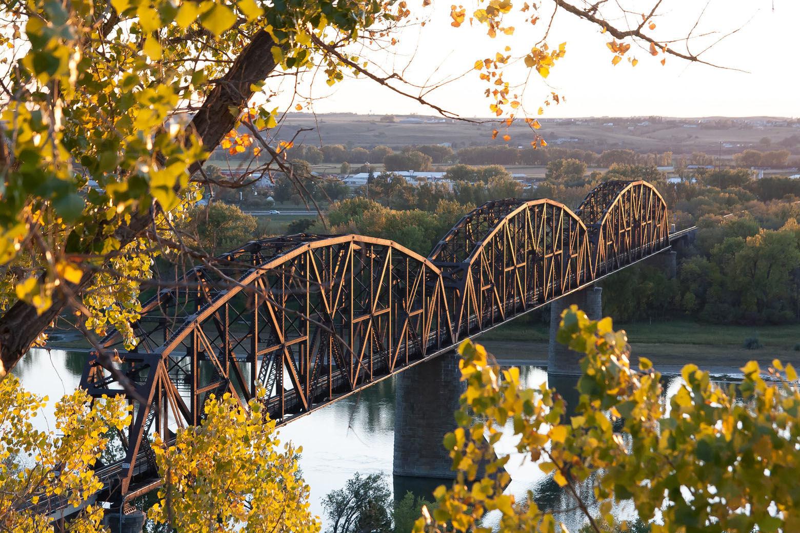 Bismarck-Mandan Bridge (Courtesy Mike Renner/National Trust for Historic Preservation)
