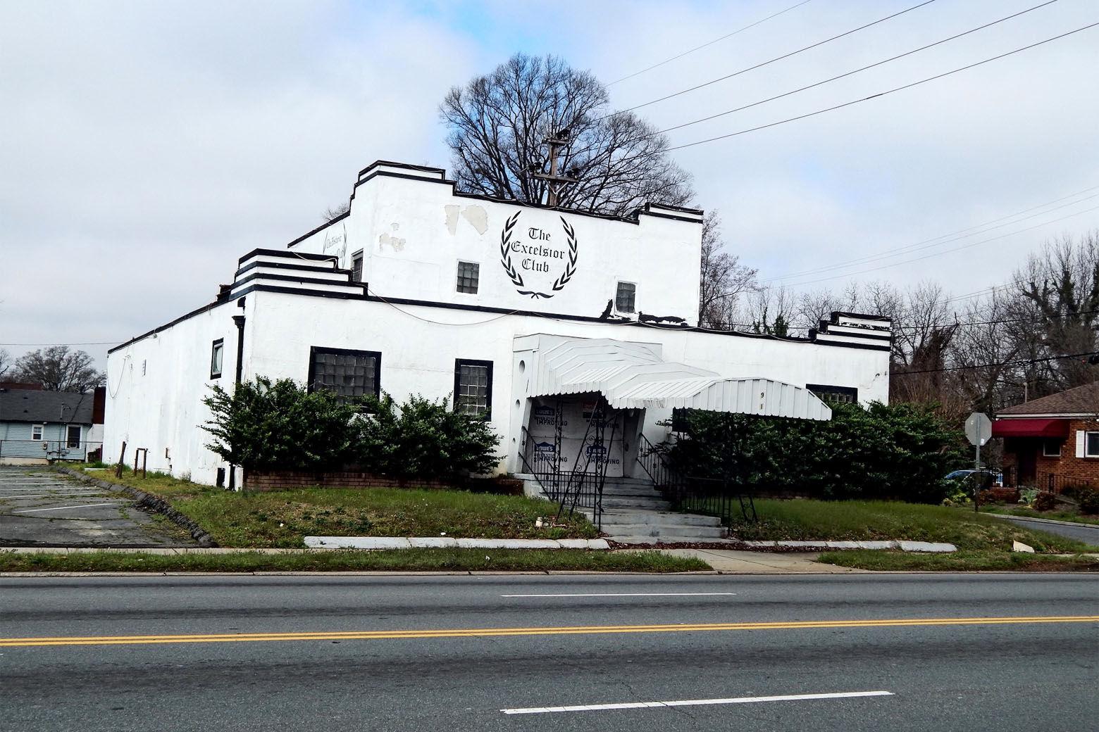 The Excelsior Club (Courtesy Dan Morrill/Mecklenburg Historic Landmarks Commission/National Trust for Historic Preservation)