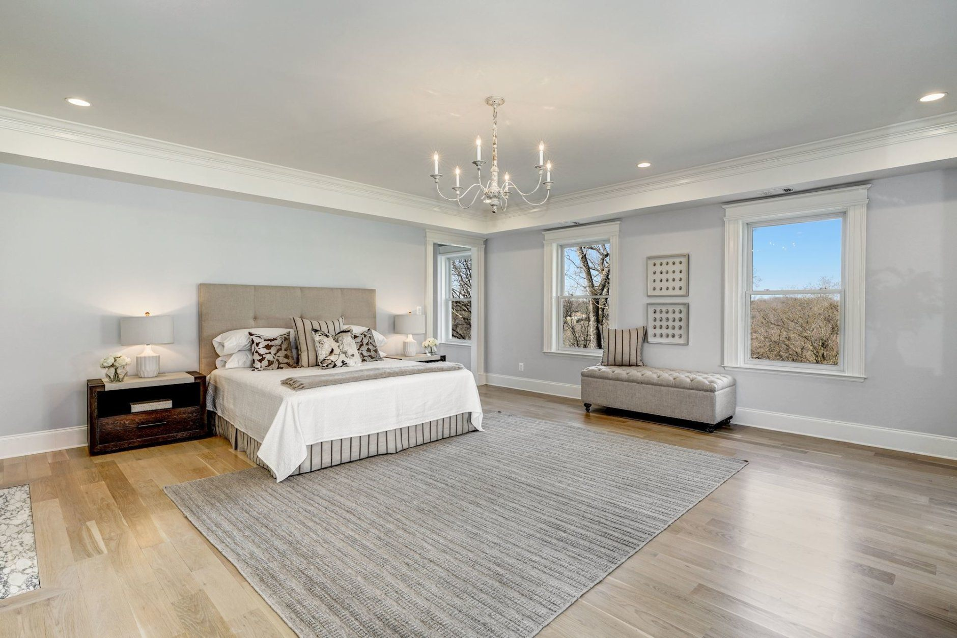 The master bedroom. (Courtesy Wydler Brothers)