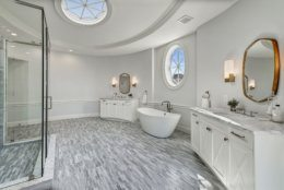 The master bathroom. (Courtesy Wydler Brothers)