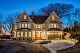 Howard K. Smith's 7,500-foot Bethesda home is on the market for $3.3 million. (Courtesy Cesar A Olivares for Wydler Brothers)
