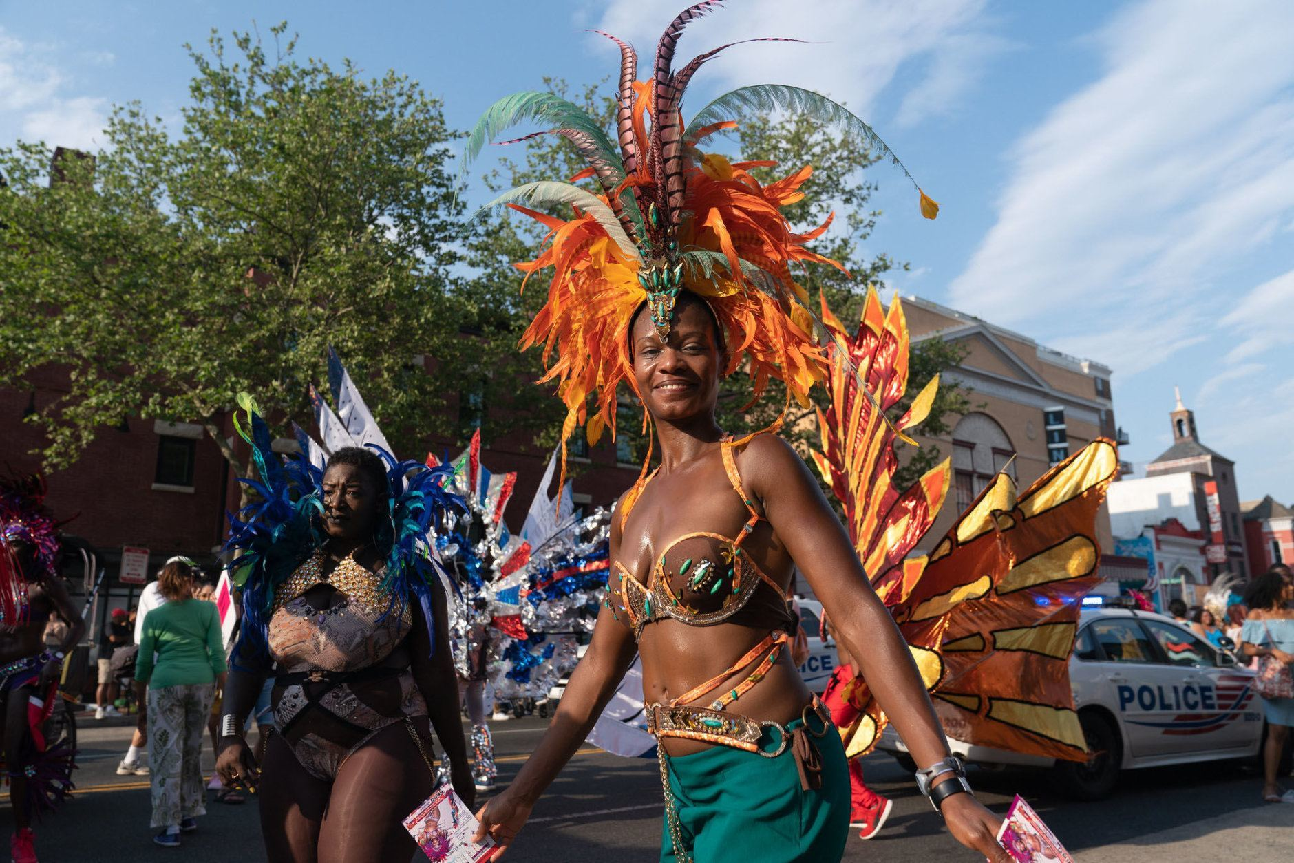 Marchers at the 2018 D.C. Funk Parade. (Courtesy Lorie Shaull)