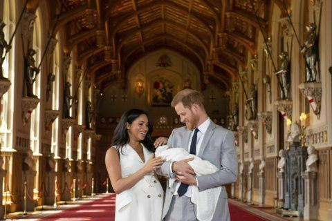 Hello, Archie! Meghan and Harry name son Archie Harrison