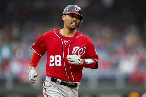 Shorthanded Nats play sloppy, lose 7-1 to Phillies