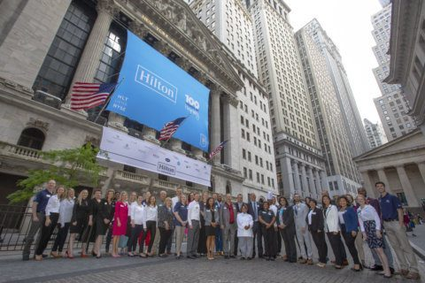 Hilton debuts new corporate foundation as part of 100th birthday