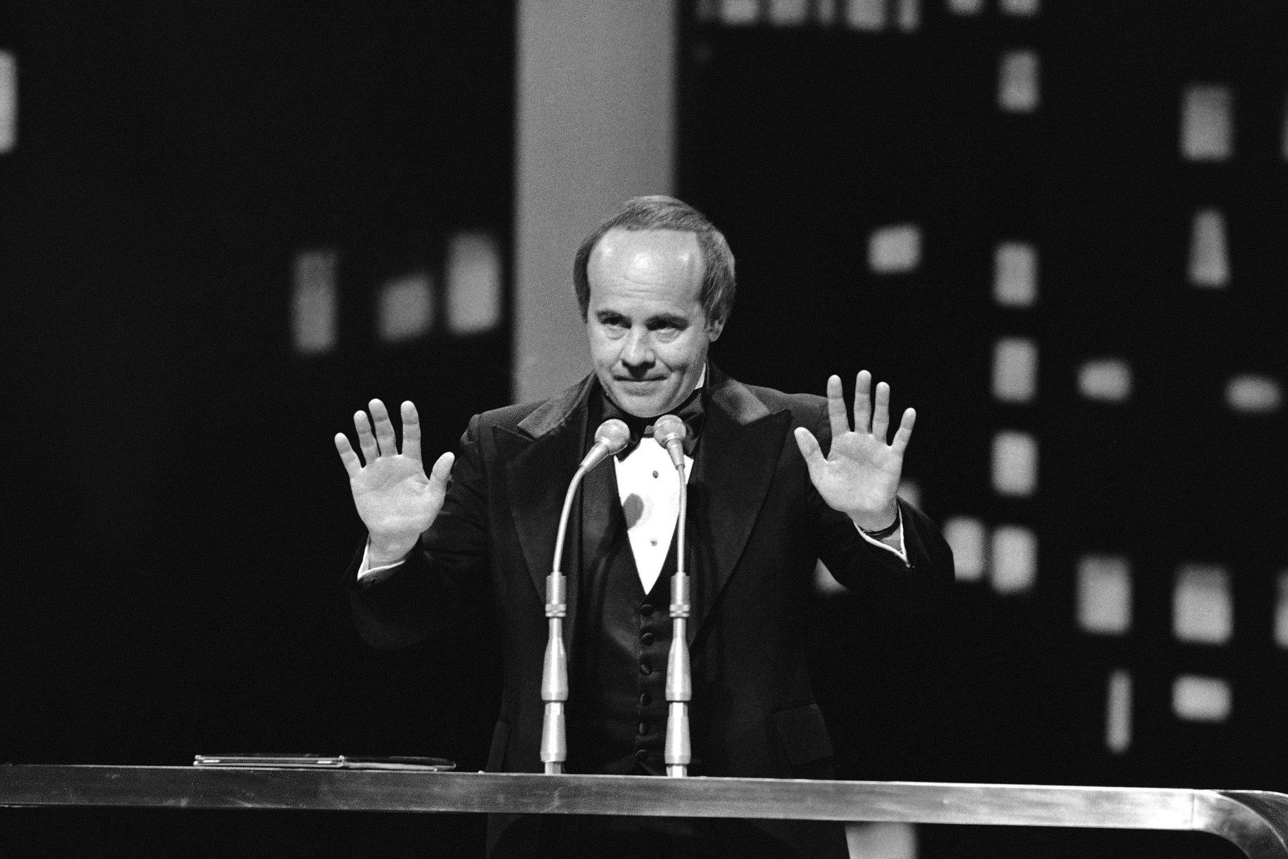 Tim Conway at the People?s Choice Awards held in Los Angeles, California, on Feb. 20, 1978. (AP Photo/JLR)