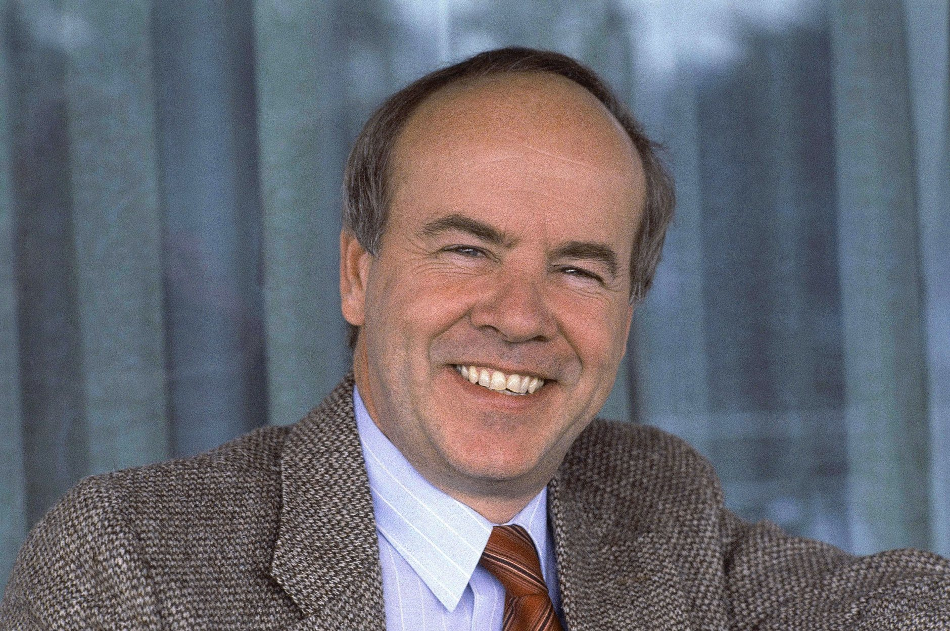 Shown in photo are head and shoulder shots of comedian Tim Conway on Feb. 15, 1983. (AP Photo/WF)