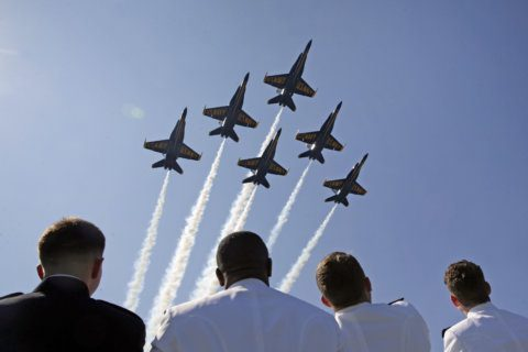 Blue Angels to fly so there are traffic changes in Annapolis and Eastport