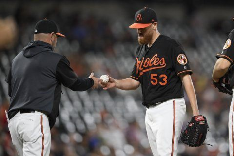 Trout HR, 3 RBIs help Angels beat Orioles 8-3
