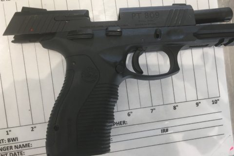 Man arrested at BWI Marshall for traveling with handgun