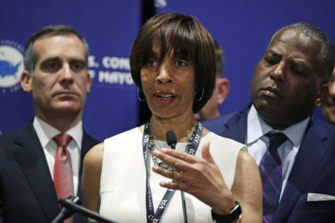 The Latest: New Baltimore mayor says city will be 'stronger'