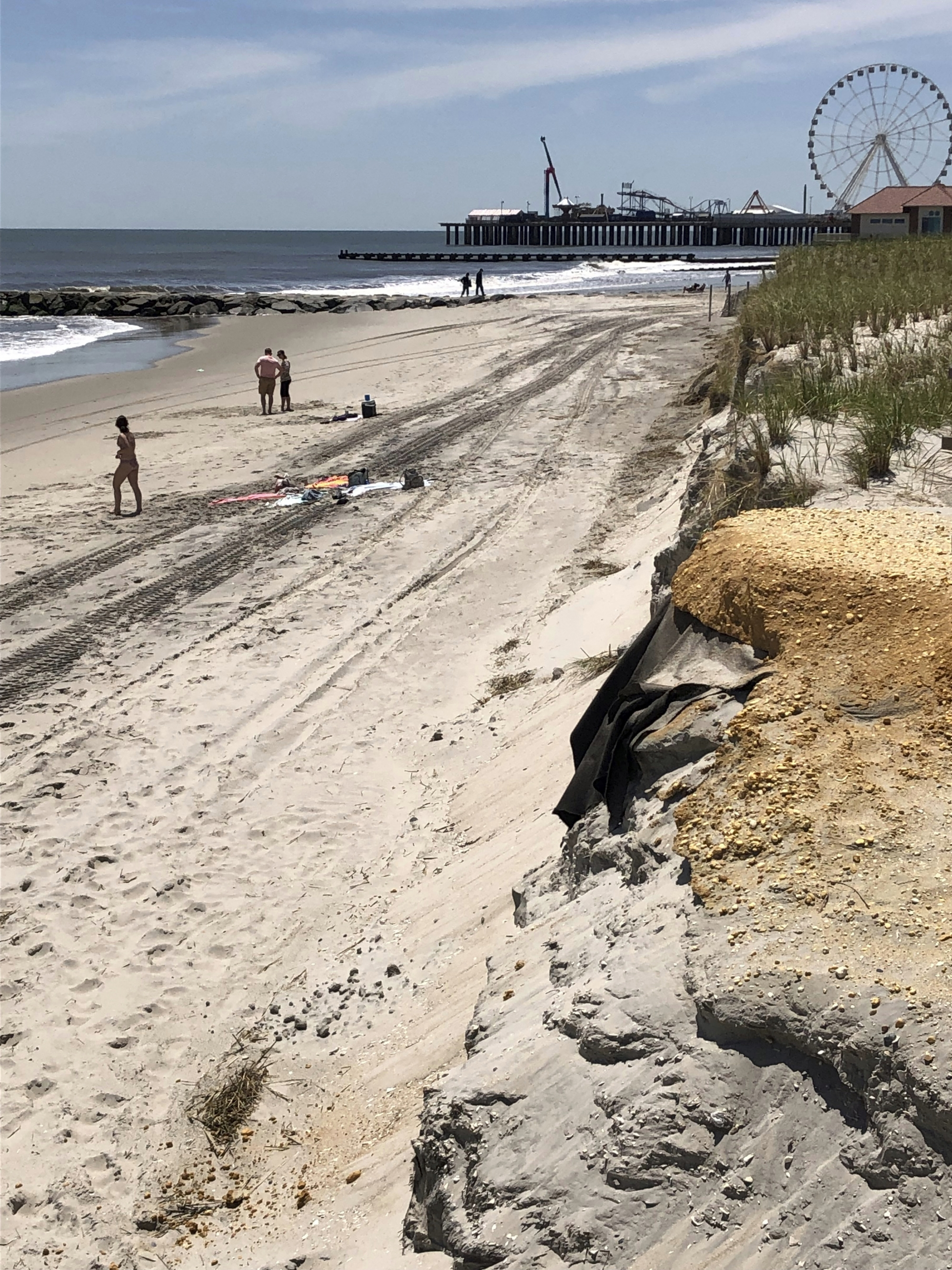 Mild Winter, Previous Work Leaves NJ Beaches In Great