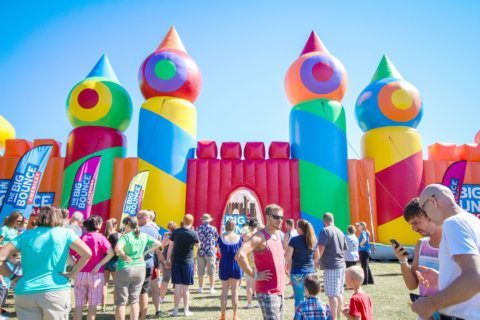 World's largest bounce house returns to DC area this weekend