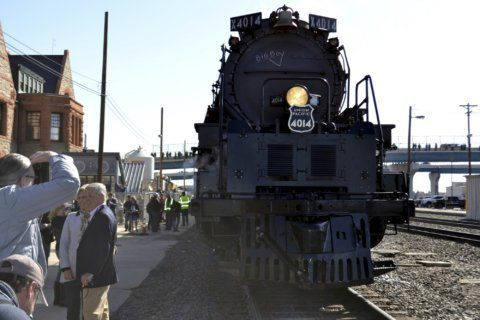 Big Boy steam locomotive chugs to post-restoration debut