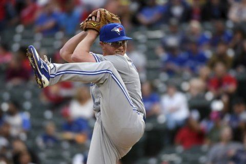 Blue Jays get unearned run in 12th for 1-0 win at Rangers