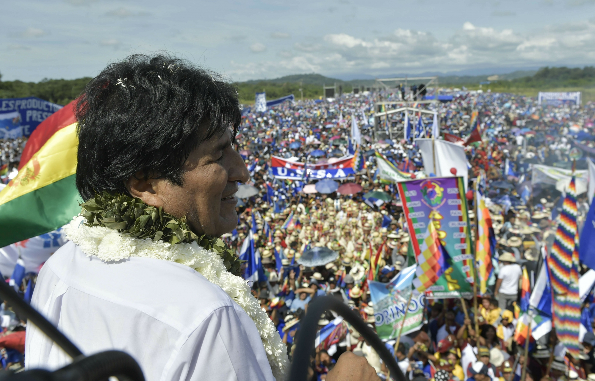 Bolivia's Morales Begins Bid For 4th Term Despite