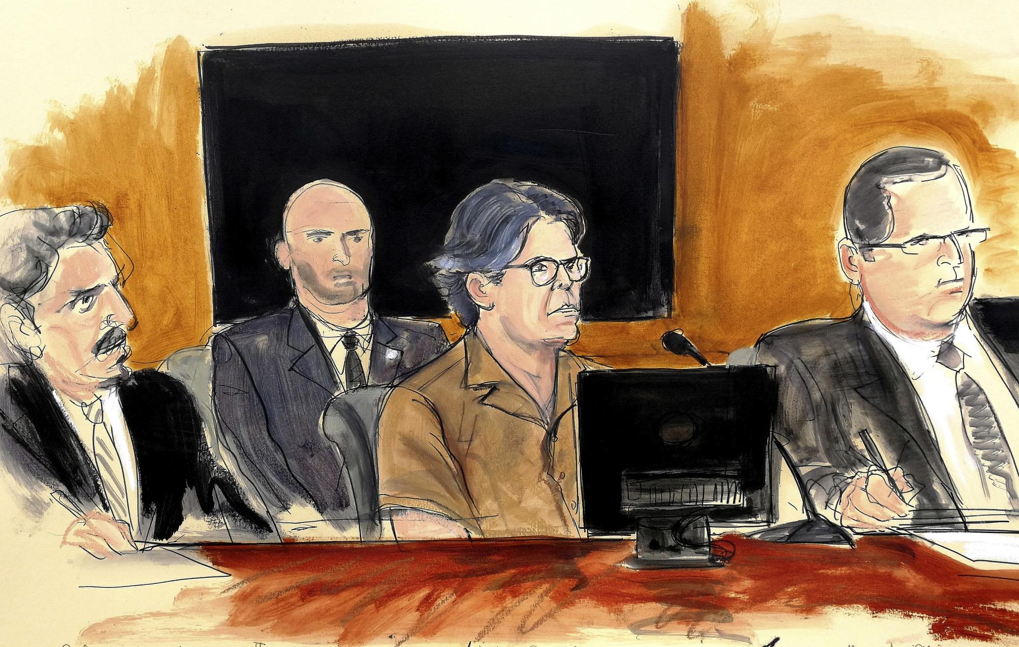Witness Testifies On Secret Society's 'sex Slave