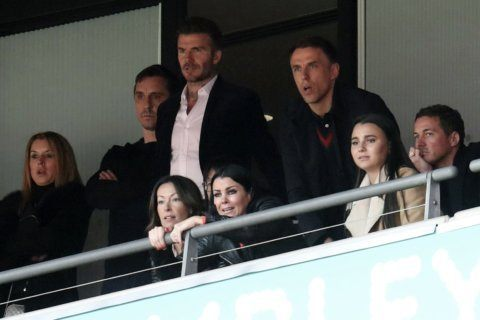 Beckham watches as Salford secures promotion at Wembley