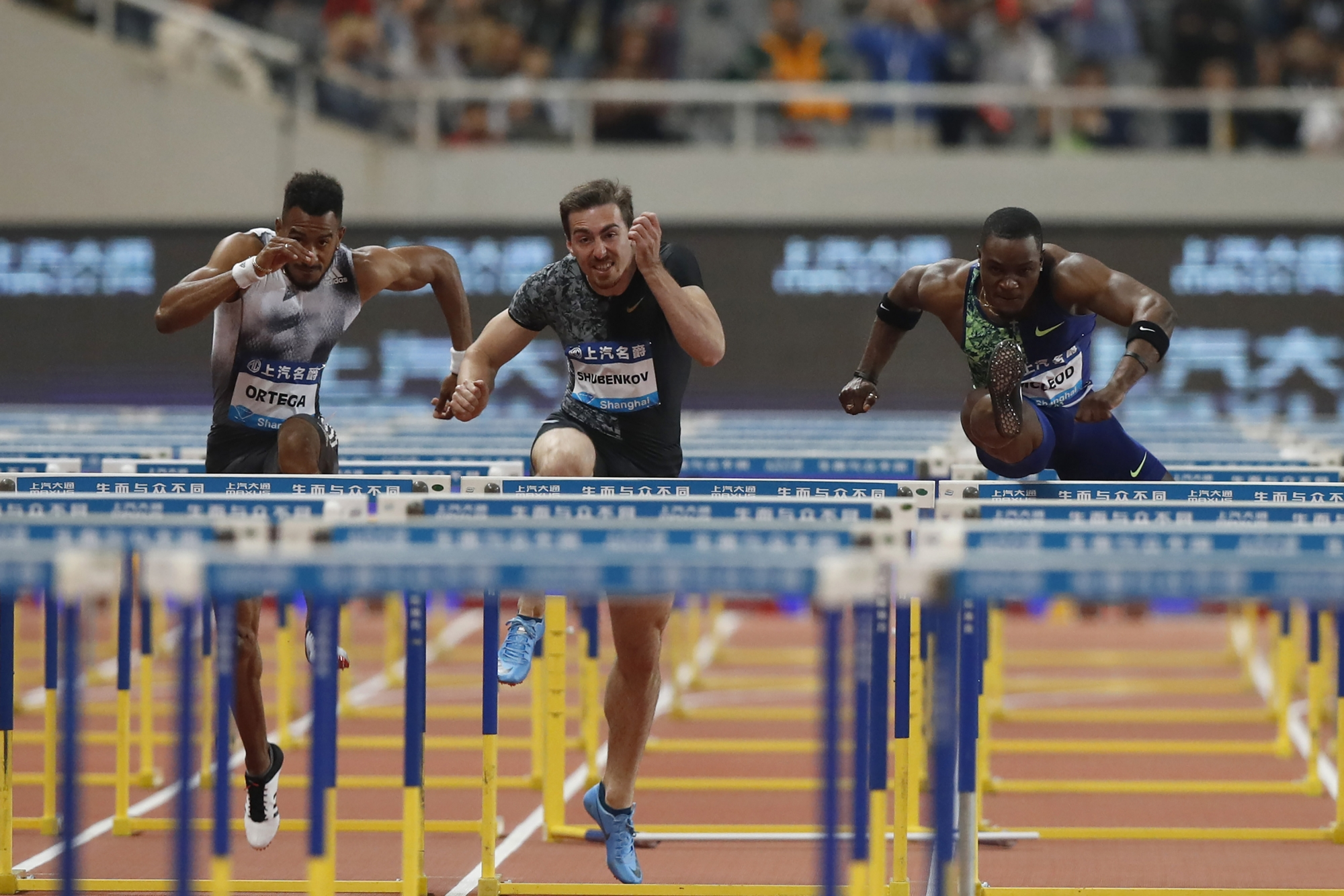 Mcleod Tearful After 4th Straight Victory At Shanghai