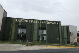 Dogfish Head, now based in Milton, Delaware, just outside of Rehoboth, defends the deal when asked about criticism that the definition of craft beer has become too broad. (WTOP/Mark Lewis)