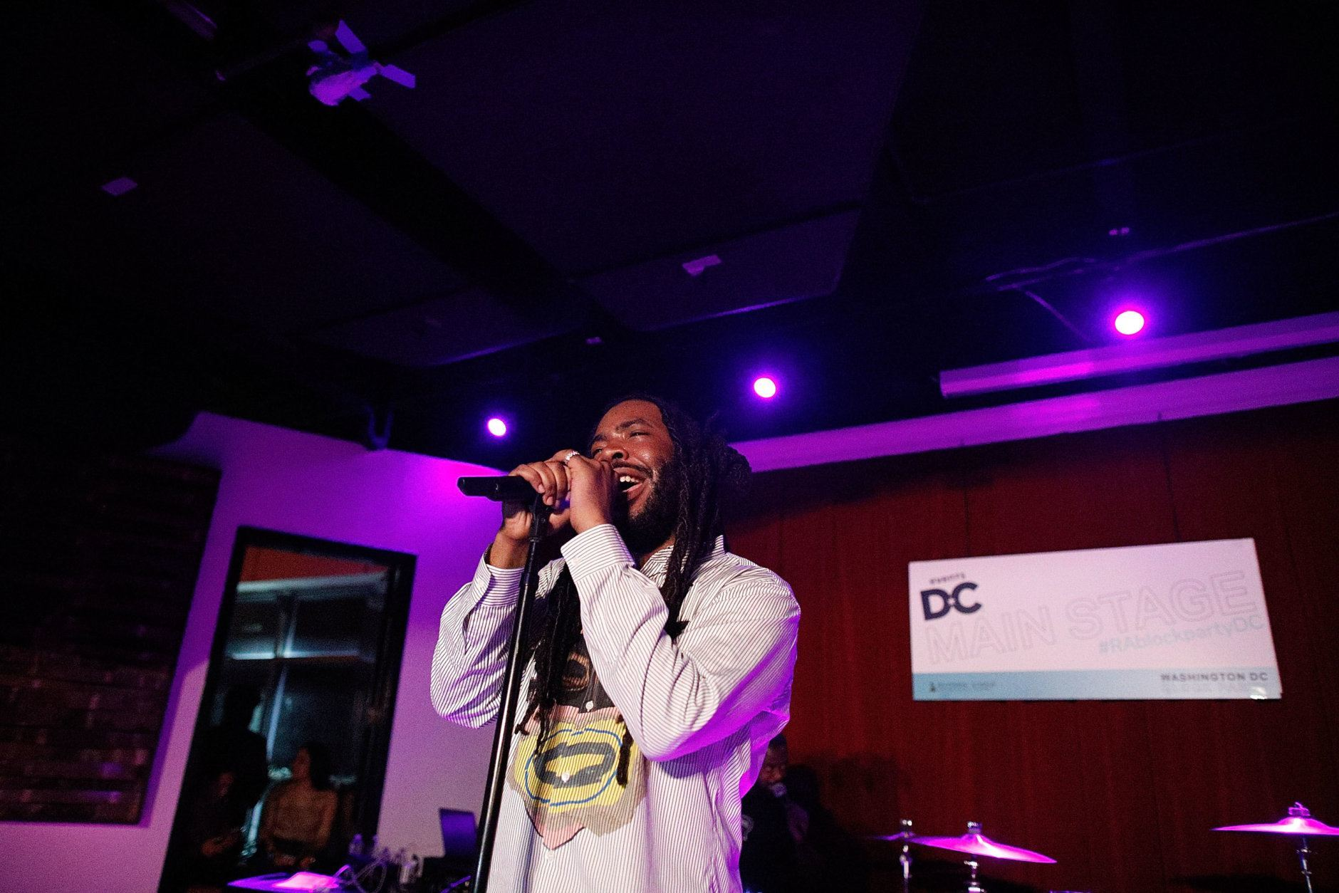 Rapper D.R.A.M. performs at the WDC Chapter Block Party at City Winery DC on May 10, 2019 in Washington, DC. (Courtesy of The Recording Academy/Brian Stukes)