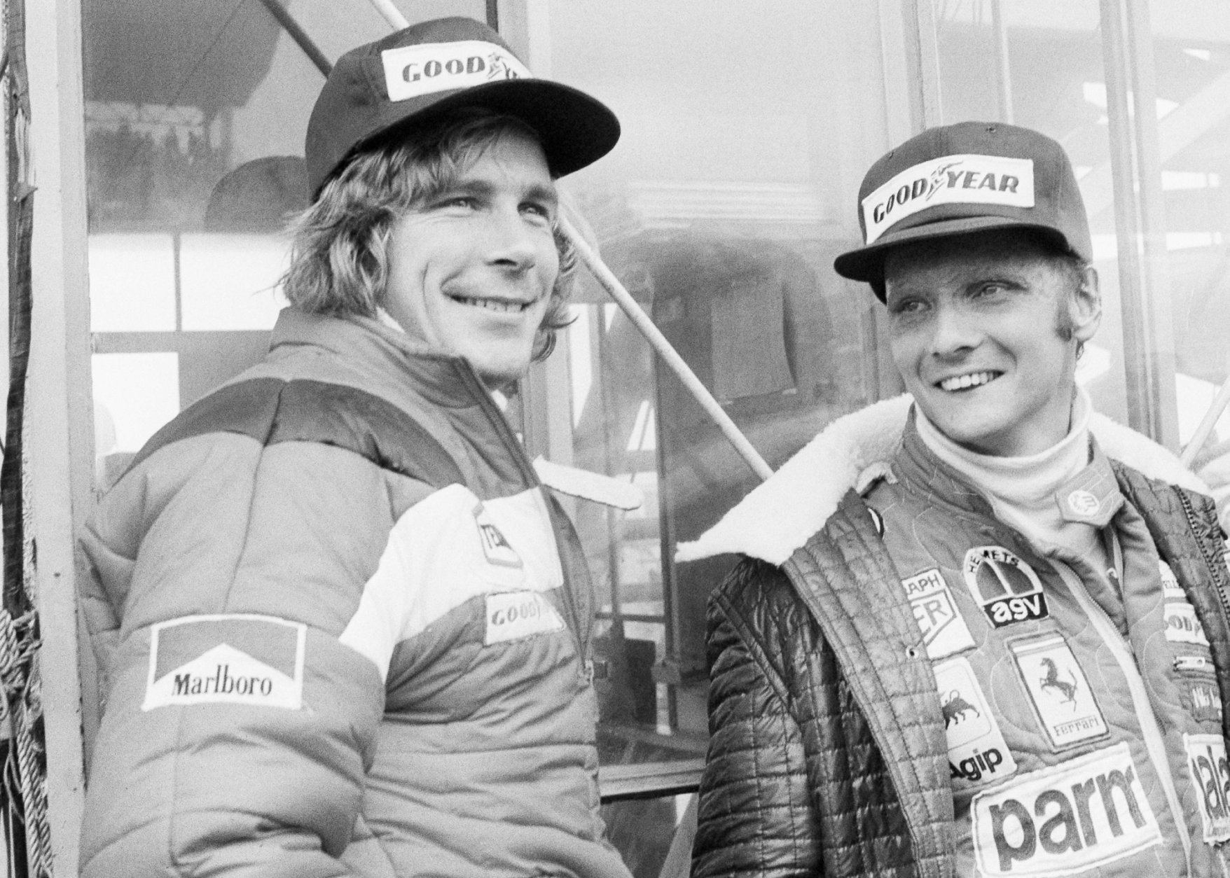 Niki Lauda, James Hunt