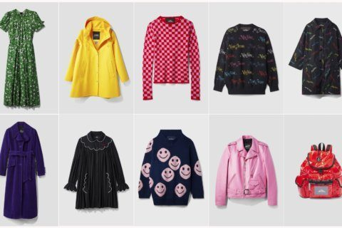 With help from a big THE, Marc Jacobs launches eclectic line