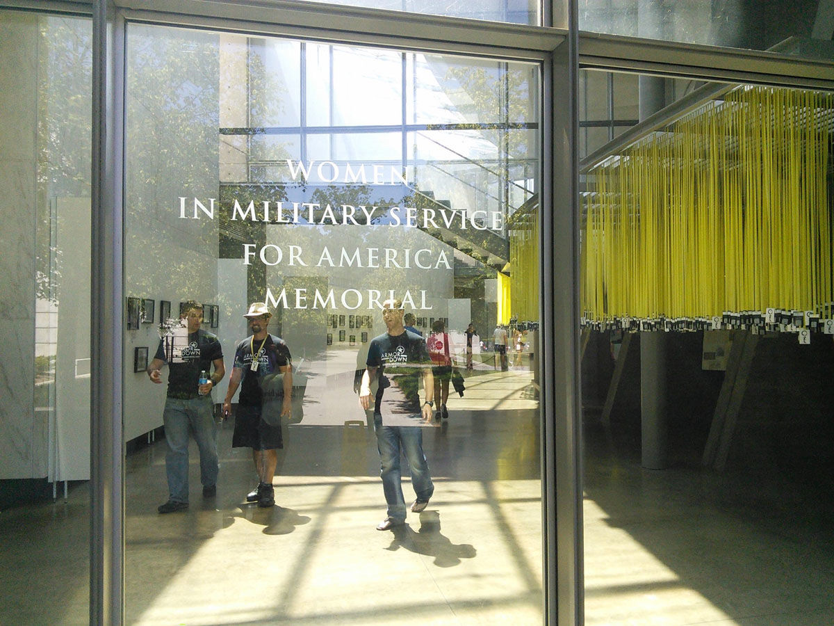 Visitors can go to the Women's Memorial between 9 a.m. and 4 p.m. on Saturday, Sunday and Monday to receive a ribbon. (Courtesy Mindful Memorial Day Foundation)