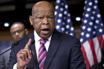 John Lewis on Trump in emotional speech: 'I know racism when I feel it'