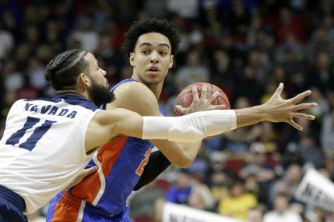 Florida point guard Nembhard returning for sophomore season