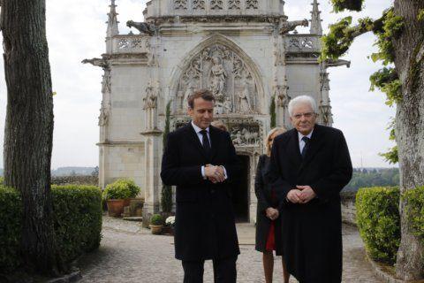 France, Italy honor Leonardo 500 years after artist's death