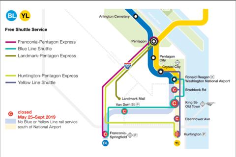 Reagan National hopes passengers still take Metro, despite