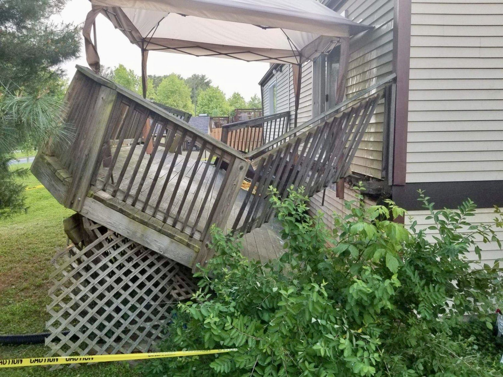 germantown deck collapse