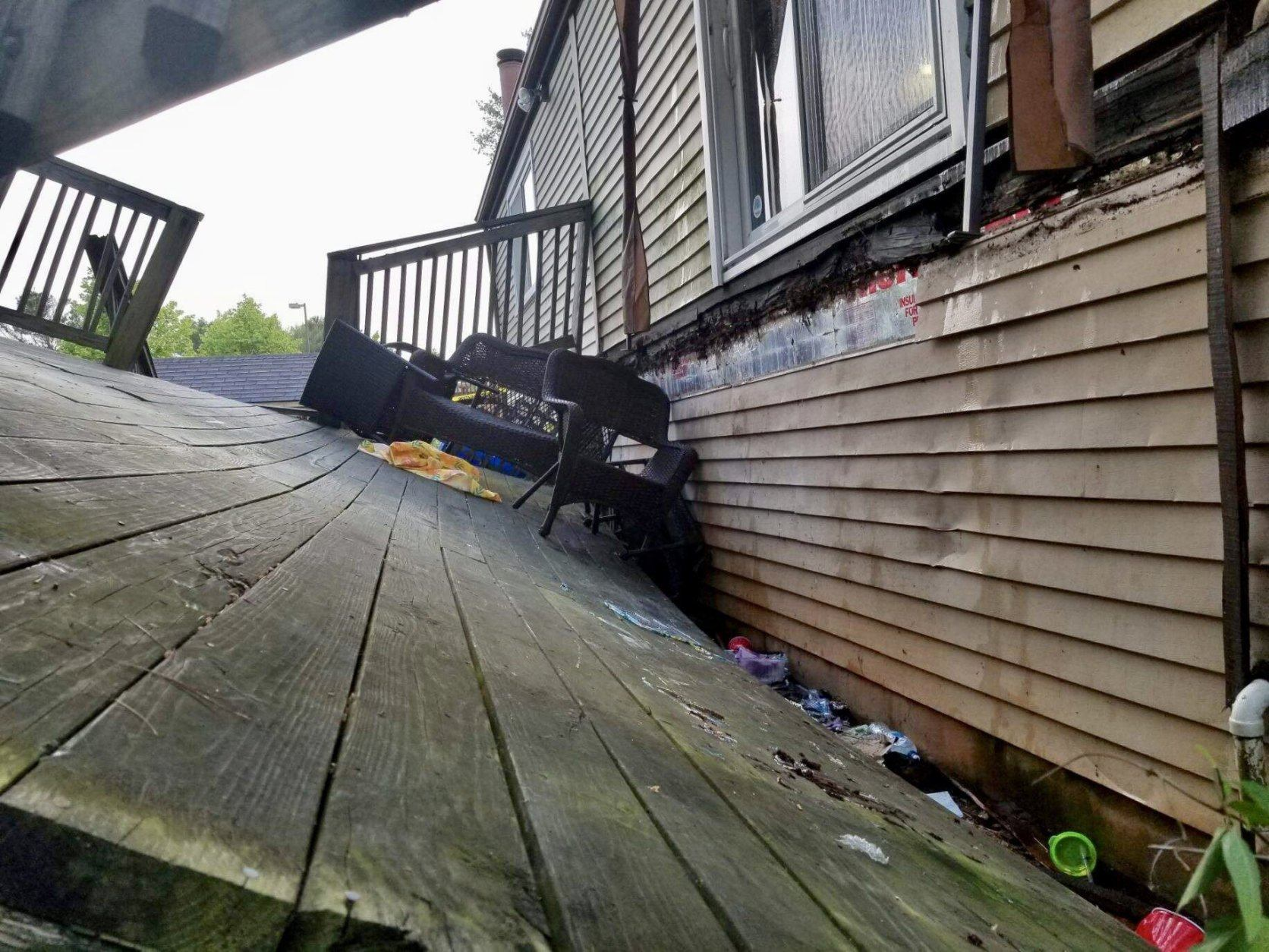 Germantown deck collapses