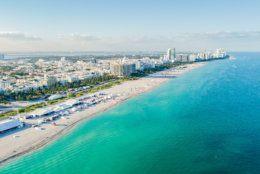 Miami Beach Aerial Beach