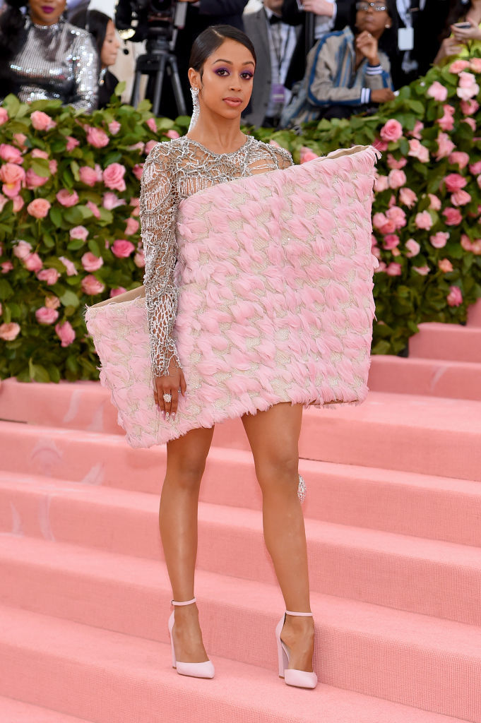 NEW YORK, NEW YORK - MAY 06: Liza Koshy attends The 2019 Met Gala Celebrating Camp: Notes on Fashionat Metropolitan Museum of Art on May 06, 2019 in New York City. (Photo by Jamie McCarthy/Getty Images)