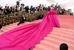 NEW YORK, NEW YORK - MAY 06: Lady Gaga attends The 2019 Met Gala Celebrating Camp: Notes on Fashionat Metropolitan Museum of Art on May 06, 2019 in New York City. (Photo by Jamie McCarthy/Getty Images)