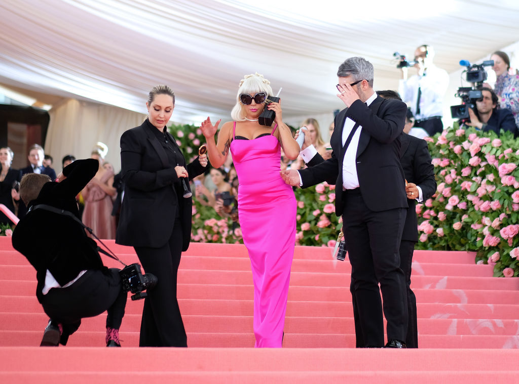 NEW YORK, NEW YORK - MAY 06:  Lady Gaga and Brandon Maxwell attend The 2019 Met Gala Celebrating Camp: Notes on Fashion at Metropolitan Museum of Art on May 06, 2019 in New York City. (Photo by Dimitrios Kambouris/Getty Images for The Met Museum/Vogue)