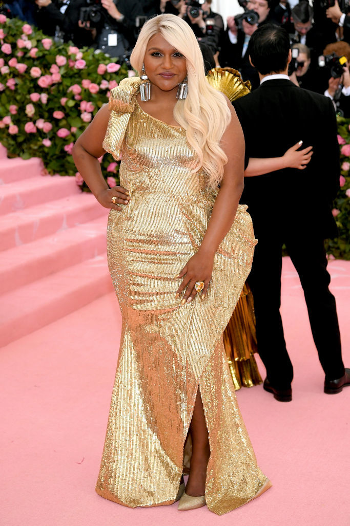 NEW YORK, NEW YORK - MAY 06: Mindy Kaling attends The 2019 Met Gala Celebrating Camp: Notes on Fashion at Metropolitan Museum of Art on May 06, 2019 in New York City. (Photo by Neilson Barnard/Getty Images)