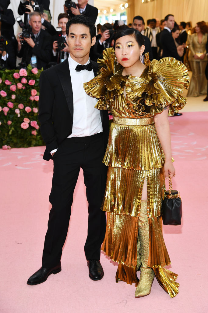 NEW YORK, NEW YORK - MAY 06: Joseph Altuzarra and Awkwafina attend The 2019 Met Gala Celebrating Camp: Notes on Fashion at Metropolitan Museum of Art on May 06, 2019 in New York City. (Photo by Dimitrios Kambouris/Getty Images for The Met Museum/Vogue)