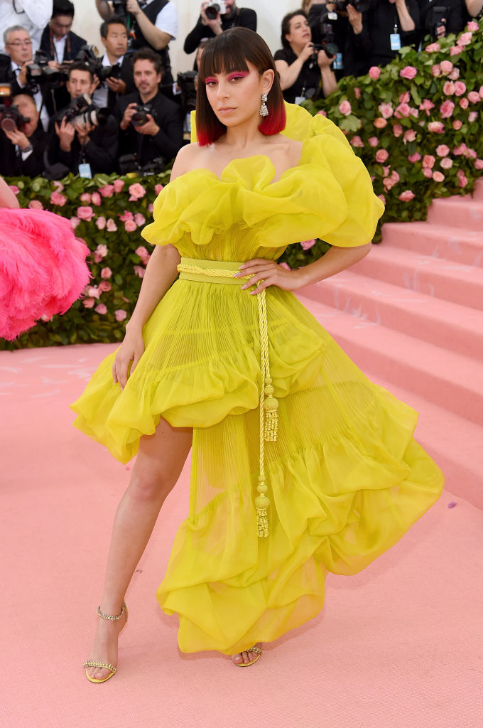 NEW YORK, NEW YORK - MAY 06: Charli XCX attends The 2019 Met Gala Celebrating Camp: Notes on Fashion at Metropolitan Museum of Art on May 06, 2019 in New York City. (Photo by Jamie McCarthy/Getty Images)