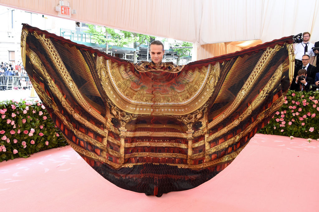 NEW YORK, NEW YORK - MAY 06: Jordan Roth attends The 2019 Met Gala Celebrating Camp: Notes on Fashion at Metropolitan Museum of Art on May 06, 2019 in New York City. (Photo by Jamie McCarthy/Getty Images)