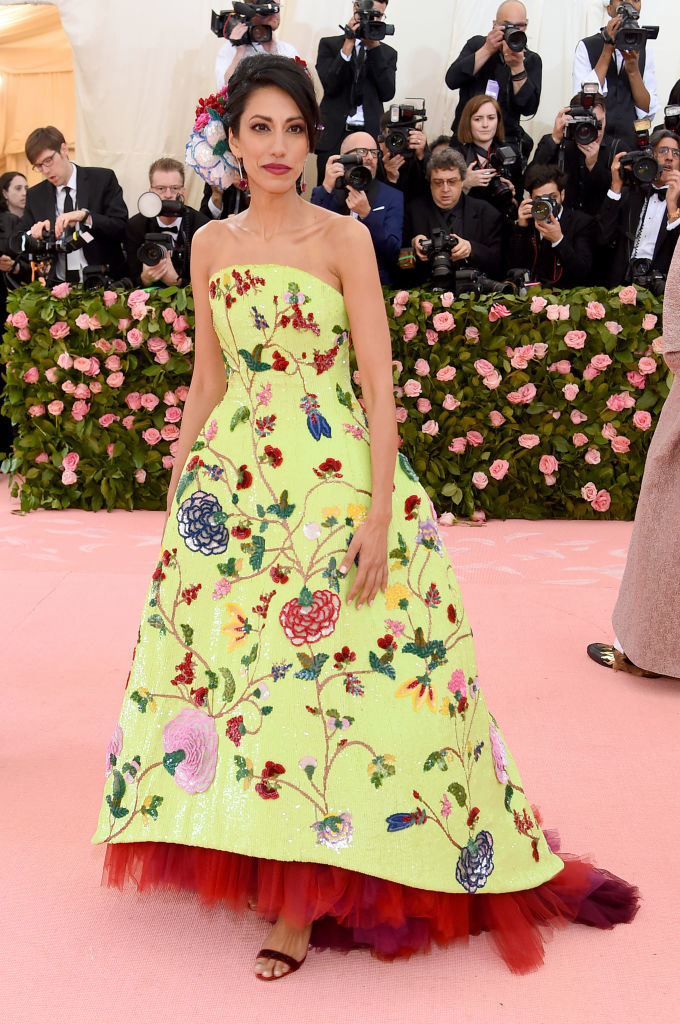 NEW YORK, NEW YORK - MAY 06: Huma Abdein attends The 2019 Met Gala Celebrating Camp: Notes on Fashion at Metropolitan Museum of Art on May 06, 2019 in New York City. (Photo by Jamie McCarthy/Getty Images)