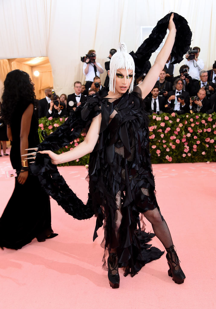 NEW YORK, NEW YORK - MAY 06: Aquaria attends The 2019 Met Gala Celebrating Camp: Notes on Fashion at Metropolitan Museum of Art on May 06, 2019 in New York City. (Photo by Jamie McCarthy/Getty Images)