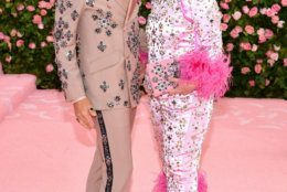 NEW YORK, NEW YORK - MAY 06: Baz Luhrmann and Catherine Martin attend The 2019 Met Gala Celebrating Camp: Notes on Fashion at Metropolitan Museum of Art on May 06, 2019 in New York City. (Photo by Dimitrios Kambouris/Getty Images for The Met Museum/Vogue)